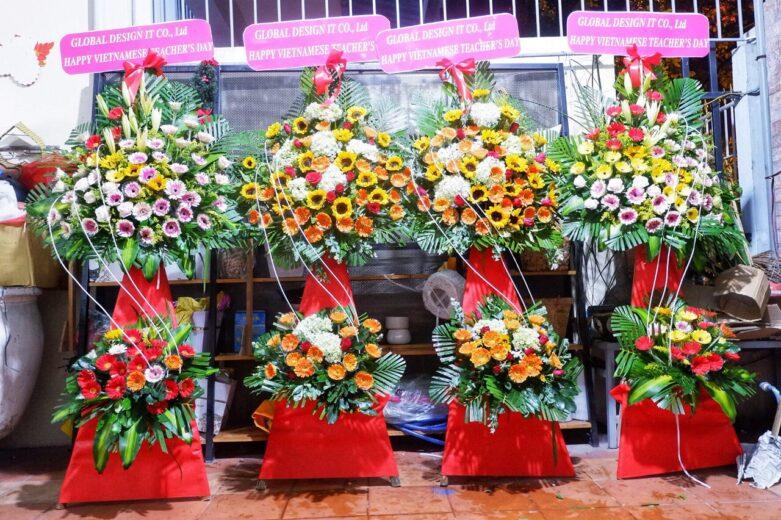 本日はベトナムの「教師の日」です